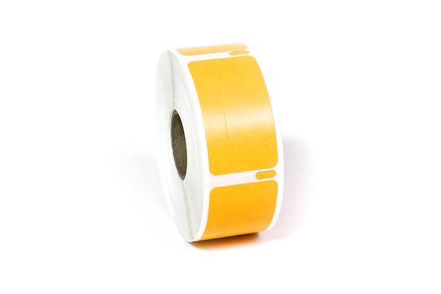"""Dymo LW Return Address Labels 3/4"""" x 2"""" Orange"""