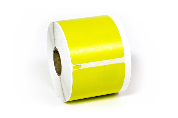 "Dymo LW Shipping Labels 2 3/4"" x 2 1/8"" Yellow"