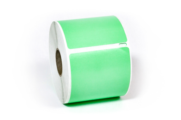 "Dymo LW Shipping Labels 2 3/4"" x 2 1/8"" Green"