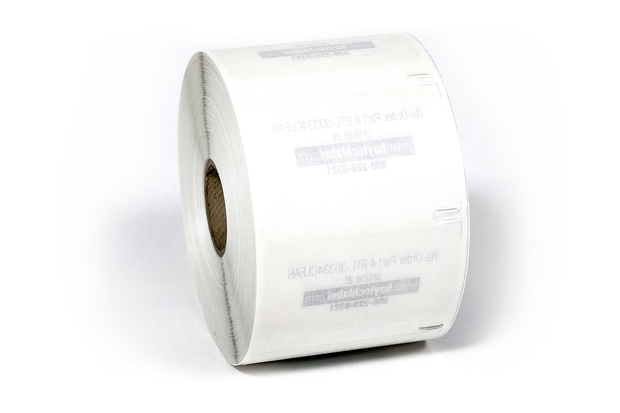 "Dymo LW Multi-Purpose Labels, Medium 2 1/4"" x 1 1/4"" Clear"