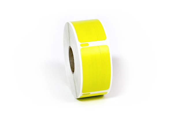 "Dymo LW Return Address Labels 3/4"" x 2"" Yellow"