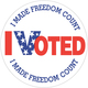 I-voted-i-made-freedom-count-2-inch-circle-label