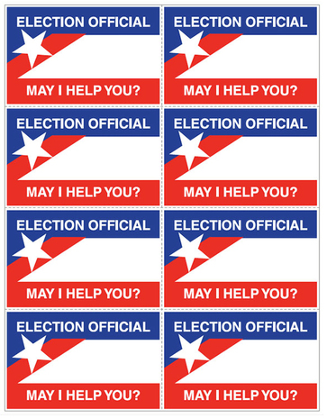 Election Nametag Non-PS