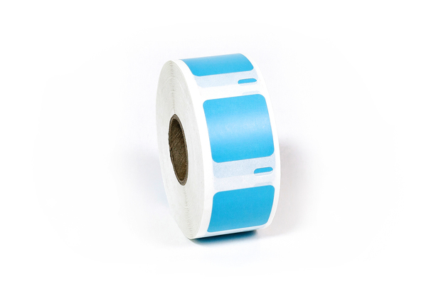 "Dymo LW Multi-Purpose Labels, Square 1"" x 1"" Blue"
