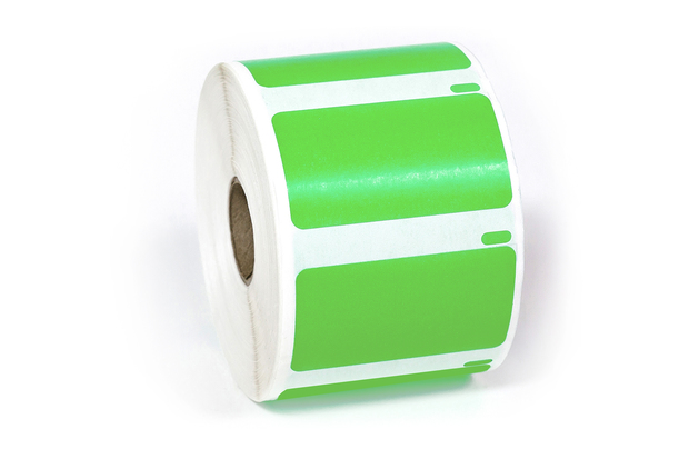 "Dymo LW Multi-Purpose Labels, Medium 2 1/4"" x 1 1/4"" Green"