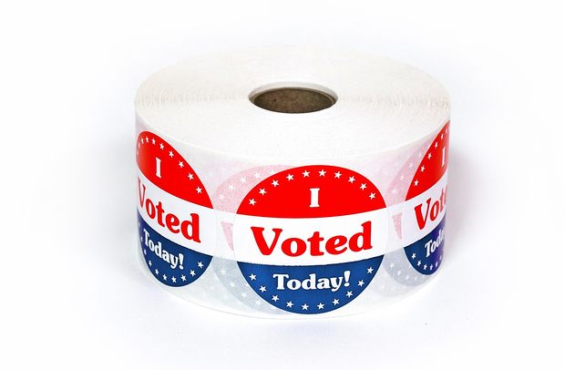 I Voted Today Stickers