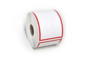 Dymo-lw-30256-red-border-labels
