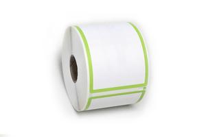 Dymo-lw-30256-green-border-labels
