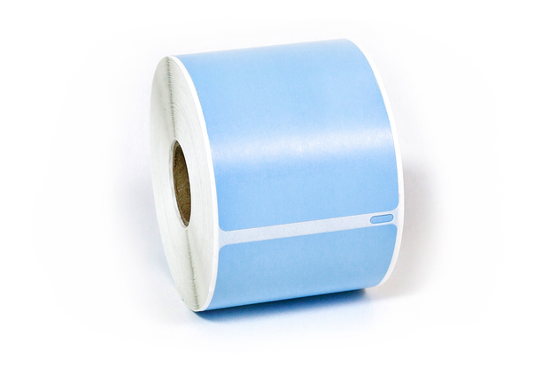 """Dymo LW Removable Shipping Labels 2 5/16"""" x 4"""" Blue"""