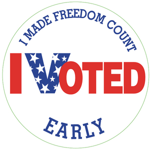 I-voted-early-sticker