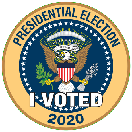 I Voted Presidential Election CLOSEOUT!