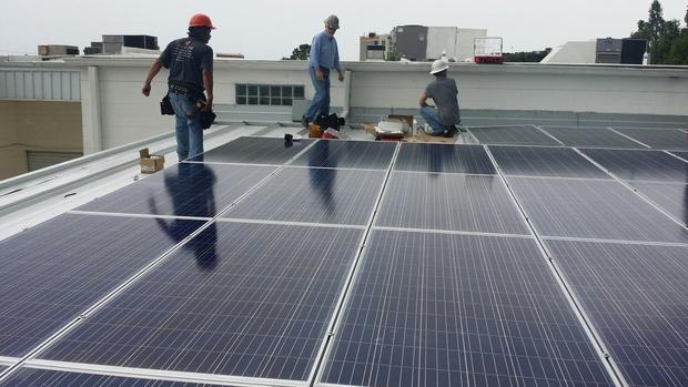 84 solar panels