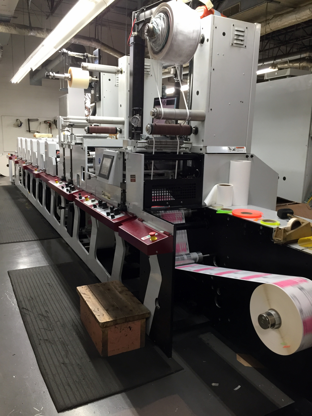 Flexographic Label Printers