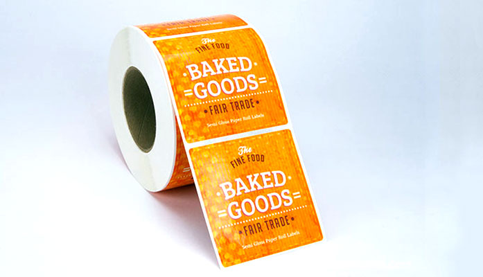 Labels on Rolls