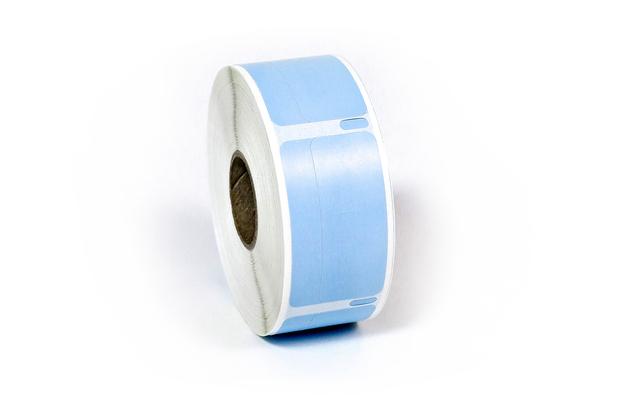 "Dymo LW Return Address Labels 3/4"" x 2"" Blue Synthetic"