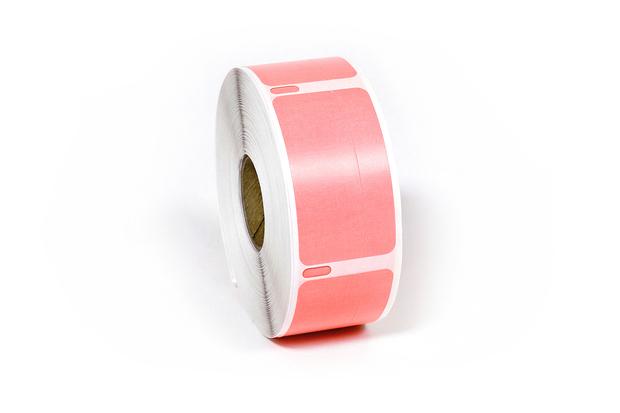 "Dymo LW Return Address Labels 3/4"" x 2"" Pink Removable"