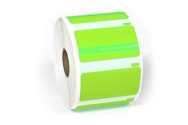 "Dymo LW Multi-Purpose Labels, Medium 2 1/4"" x 1 1/4"" Green 367"