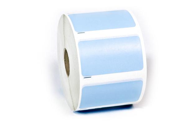 "Dymo LW Multi-Purpose Labels, Medium 2 1/4"" x 1 1/4"" Blue Removable"